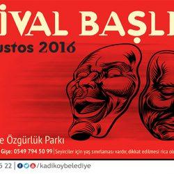 Duyurdum: 14. Kadıköy Belediyesi Tiyatro Festivali