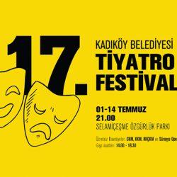Duyurdum: 17. Kadıköy Belediyesi Tiyatro Festivali